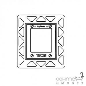Монтажна рамка для установки скляних панелей TECEloop Urinal на рівні стіни TECE 9.242.649 хром глянсовий