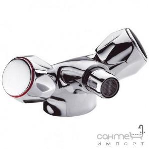 Змішувач для раковини з донним клапаном латунь pop-up Clever Distribucion Guayama 97932 Хром