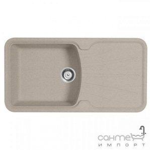Кухонна мийка Longran Korona 1.0 B Bermuda Sand