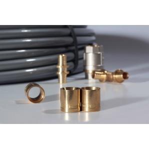 Гільза для запресовування з латуні Heat-PEX 25 мм