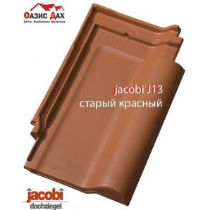Керамічна черепиця Jacobi J13 26,6x43,5 см Старий Червоний