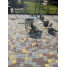 Тротуарна плитка Старе місто 40 мм в кольорі