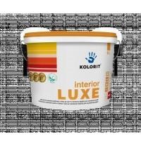 Краска интерьерная Kolorit Interior Luxe А 9 л глубокоматовая