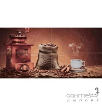 Плитка керамічна декор Absolut Keramika Coffe Beans Composition 02 40х20