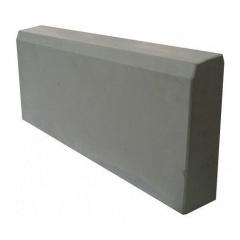 Бордюрний камінь 500х210х45 мм сірий Київ