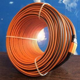 Нагревательный кабель для теплого пола ProfiRoll-1400 в стяжку 7,28-9,7 м2 1400 Вт