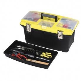 """Ящик для инструмента Stanley Jumbo, 22"""" (562x314x300m), пластмассовый с 2-мя съемными органайзерами 1-92-908"""