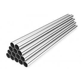 Труба нержавіюча кругла сталь AISI 304 48,3x1,5 мм (08х18Н10)