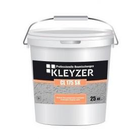 Финишная декоративная силиконовая штукатурка короед KLEYZER СL 175 SК белая