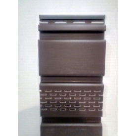 Софіт Айдахо без перфорації 2,7x0,3 м коричневий