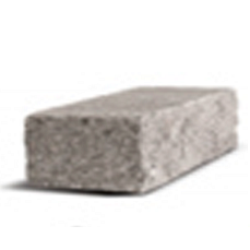Колотый блок Рустик серый