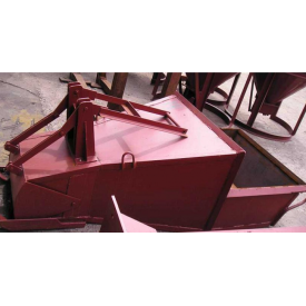 Бункер поворотный лапоть ТД Профи 3100х1350х1000 мм