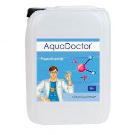 Дезинфектант жидкий хлор AquaDoctor C15-L для автоматических дозаторов 20 л