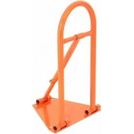 Бар`єр паркувальний ПромТехноКом БП-2 550х350х250 мм помаранчевий