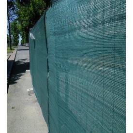 Сетка фасадная защитная HDPE 3х50 м 160 г/м2 темно-зеленая (an000025)