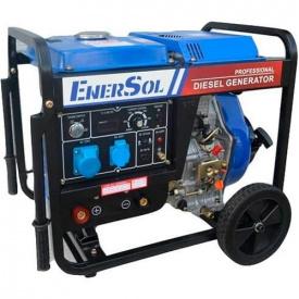 Дизельний зварювальний генератор EnerSol SWD-7E