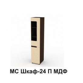 Шкаф Компанит МС 24 П МДФ 1950x464x400 мм дуб сонома