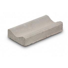 Жолоб водовідвідний бетонний сухопрессованный 40х20х8 см