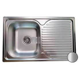 Кухонная мойка Galati Constanta Nova нержавеющая сталь 78х48х18 см Satin
