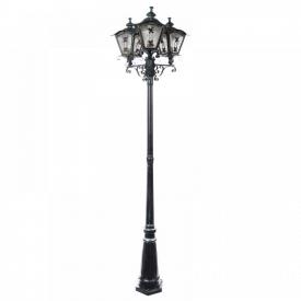 Светильник уличный высокий Brille GL-49 E-3 2250 мм