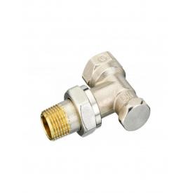 Клапан запорный угловой Danfoss RLV-S 20 никель 003L0125