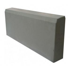 Бордюрний камінь 500x210x60 мм сірий