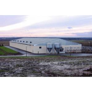 Будівництво монолітної енергозберігаючої тваринницької ферми