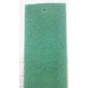 Виставковий ковролін на гумовій основі 2 м зелений