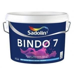 Фарба для стін BINDO 7 BW 10 л