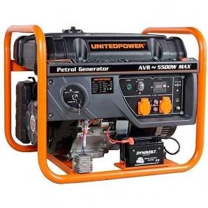 Бензиновий генератор United Power GG6300E