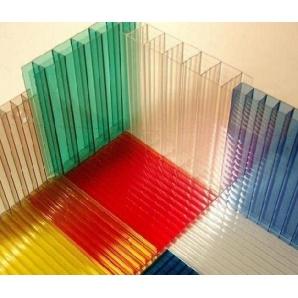 Стільниковий полікарбонат Italon 10 мм червоний