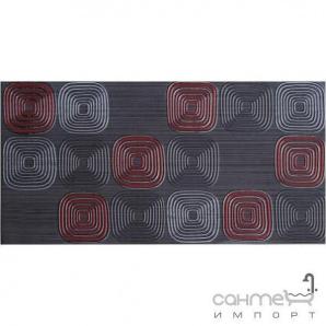 Плитка настінна декор 300х600 Marconi FUTURA GRAFIT GEO (сіра)