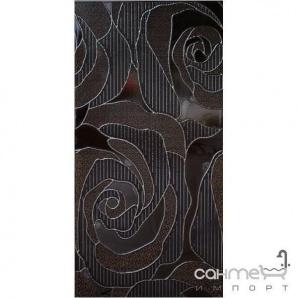 Настінна плитка декор 300х600 Marconi VERSAL MARRONE WITRAŻ (коричнева)