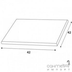 Плитка RAKO DCD4J360 - Defile флорентійська біла