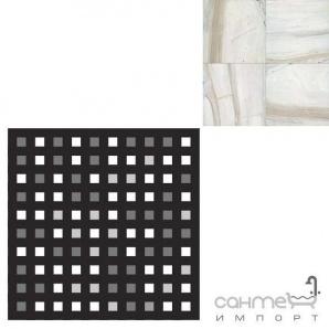 Керамограніт мозаїка REх I BIANCHI DI REх PALISSANDRO MOSAICO 3D MIх 3х3 727538