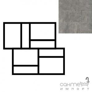 Керамограніт фарфоровий мозаїка REх ARDOISE PLOMB MOD.MURETTO 3D 30х30 739371