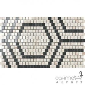 Керамічний граніт мозаїка Atlas Concorde Marvel PRO Marvel Mosaico Honeycomb Warm Lapp. ADVB