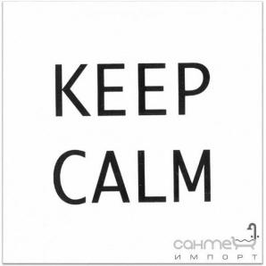 Плитка настінна декор Kerama Marazzi Ітон Keep calm ADA1681146T