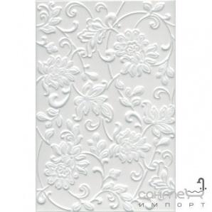 Плитка Kerama Marazzi Аджанта білий квіти 8216