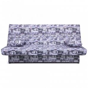 Диван-ліжко AMF Ньюс 1930х950х950 мм City gray з двома подушками