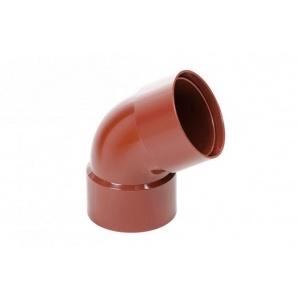 Коліно дворострубне Profil 100 мм цегляне
