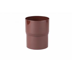 З`єднувач труби Profil 90 мм коричневий