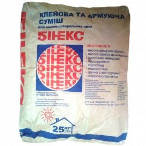 Цементно-піщана суміш Бінекс 25 кг