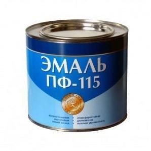 Емаль ПФ-115 SUPER STAR 50 кг яскраво-блакитний