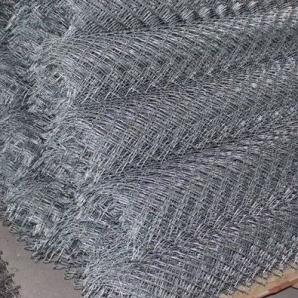 Сітка рабиця оцинкована 1,7 мм 4х4 см 1,5х10 м