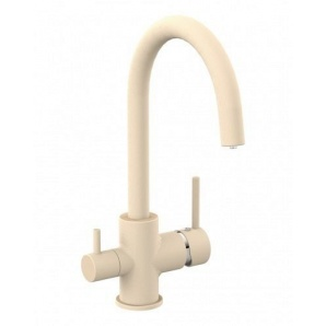 Змішувач для кухні DAICY-U IMPRESE з підключенням питної води пісок 55009-UG (049738)
