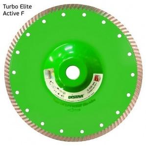 Круг алмазний відрізний Distar Turbo 230x2,6x9x22,23/F Elite Active