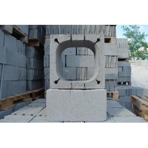 Блок дымоходный 550x550x250 мм