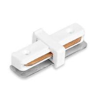 Коннектор прямой для шинопровода однофазный белый LD1000 Feron