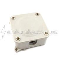 Розподільна коробка 110х110 мм з клемами 4х10 мм IP 44